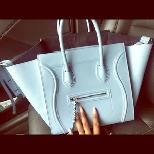 Baby Blue Celine Large Phantom Bag